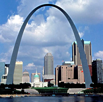 Gateway Arch in St.Louis